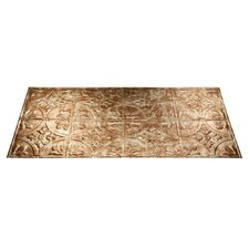 Traditional 2 4 ft. x 2 ft. Glue-Up Ceiling Tile in Bermuda Bronze