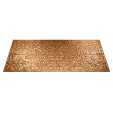 Traditional 2 4 ft. x 2 ft. Glue-Up Ceiling Tile in Cracked Copper