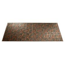 Traditional 1 4 ft. x 2 ft. Glue-Up Ceiling Tile in Copper Fantasy