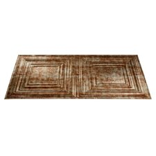 Traditional 3 4 ft. x 2 ft. Glue-Up Ceiling Tile in Bermuda Bronze