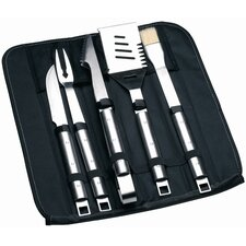 Cubo 6 Piece Travel Wrap Grilling Tool Set