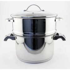 Earthchef 2 Piece Steamer Set with Lid