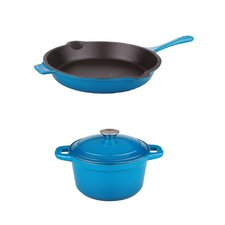 3 Piece Neo Cast Iron Cookware Set