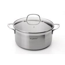 Bistro 4.8-qt Stock Pot with Lid
