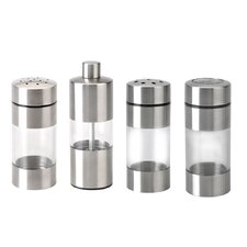 Geminis 8-Piece Single Canister Dispenser Set