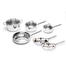 Boreal Stainless Steel 10-Piece Cookware Set