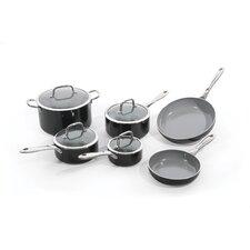 Boreal II Aluminum Non-Stick 10-Piece Cookware Set