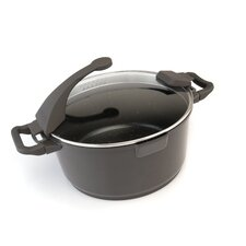 Virgo Aluminum 4.9-qt. Stock Pot with Lid