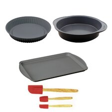 Earthchef Non-Stick 6 Piece Bake and Tool Set