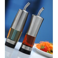 Geminis Single Canister Oil and Vinegar Dispenser