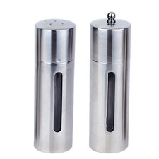 Round 2 Piece Salt and Pepper Mill Set