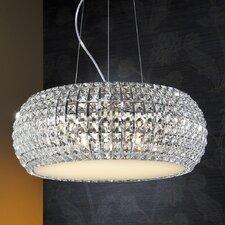 Design-Pendelleuchte 9-flammig Briller