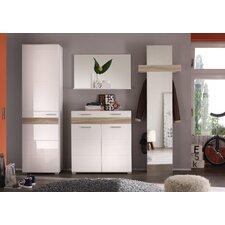 4-tlg. Garderoben-Set Look