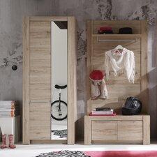 3-tlg. Garderoben-Set Fashion
