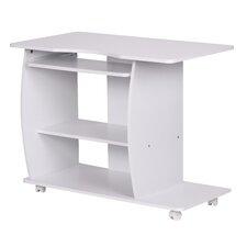 Computertisch mit Bücherregal