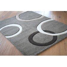 Teppich Theta in Grau