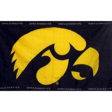 Iowa Hawkeyes Flag
