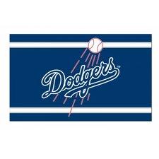 La Dodgers with Baseball Flag