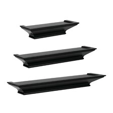 3 Piece Floating Ledge Set