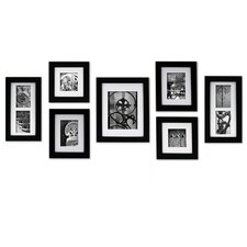 Gallery Perfect 7 Piece Create a Gallery Picture Frame Set