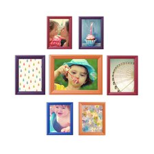 Snap Wood 7 Piece Wood Picture Frame