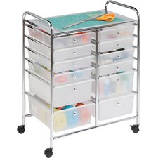 12 Drawer Utility Cart