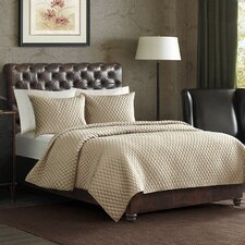 Monet 3 Piece Coverlet Set