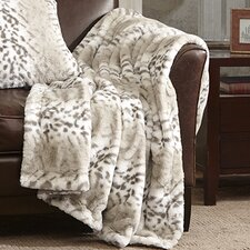 Serengeti Luxury Faux Fur Throw Blanket