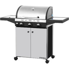 """23.6"""" Stratos 3 Gas Grill with Piezo Ignition"""