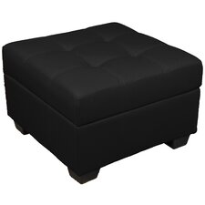 Biltmore Tufted Padded Hinged Storage Ottoman