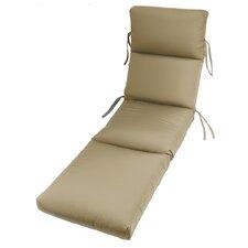 Outdoor Sunbrella Chaise Cushion (Set of 2)