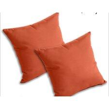 Outdoor Sunbrella Throw Pillow (Set of 2)
