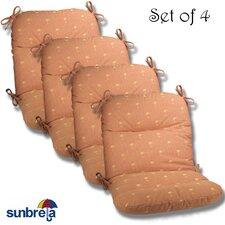 Outdoor Sunbrella Chair Cushion (Set of 4)