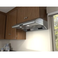 "Essentials Typhoon 29.75"" 850 CFM Under Cabinet Range Hood"