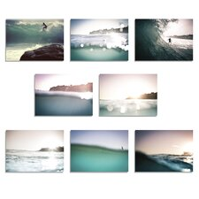 8 Piece The Sea Print of paintingt Set