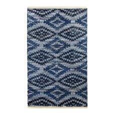 Archangel Handcrafted Blue Denim Area Rug