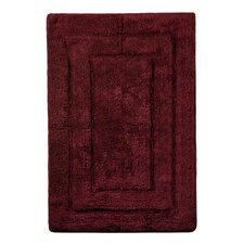Archangel Ultra Soft Rectangular Embossed Solid Bath Mat