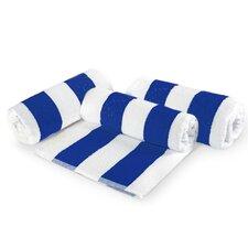 Cabana Stripe 3 Piece Beach Towel Set