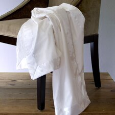 Satin Trimmed Cotton Blanket