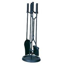 Uniflame 5 Piece Wrought Iron Fireplace Tool Set