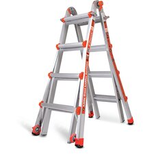 17 ft Aluminum Classic Model 17 Type 1A Multi-Position Ladder