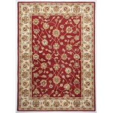 Handgefertigter Teppich Royal Ziegler in Rot