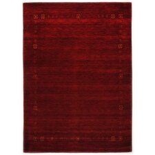 Handgefertigter Teppich Lori Dream in Rot