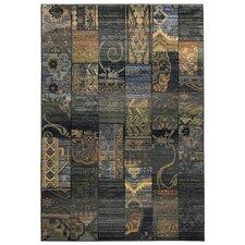 Teppich Gabiro in Blau