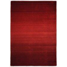 Handgewebter Teppich Wool Comfort in Rot