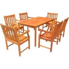 English Garden 7 Piece Dining Set