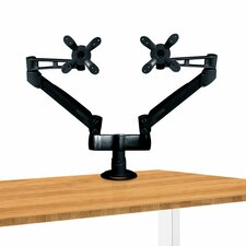 Dual Height Adjustable Monitor Arm Desk Mount