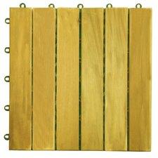 """Acacia 12"""" x 12"""" Deck Tiles"""