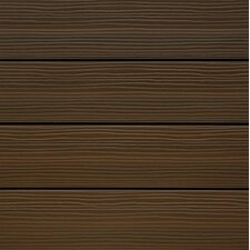 "UltraShield Spanish Walnut Wood 12"" x 12"" Outdoor Composite Quick Deck Tile"