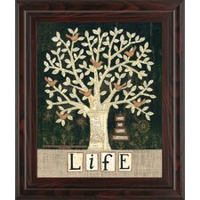 Tree of Life by Anne Lapoint Framed Graphic Art
